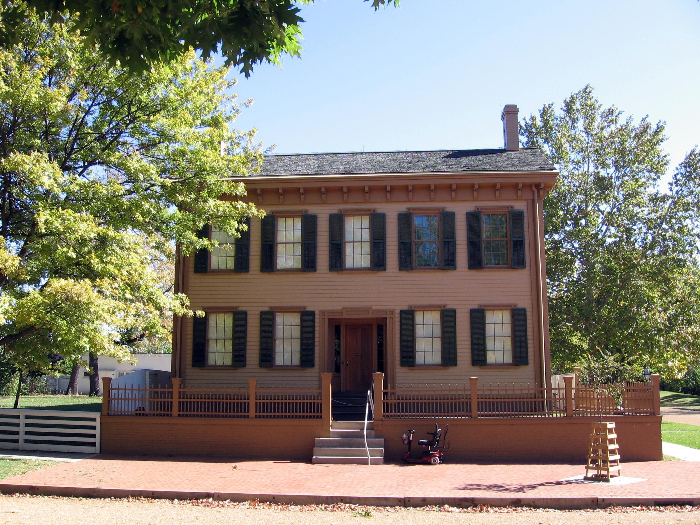 Дом Линкольна в Спрингфилде.