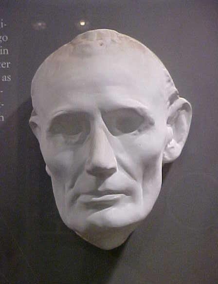 Прижизненная маска Авраама Линкольна