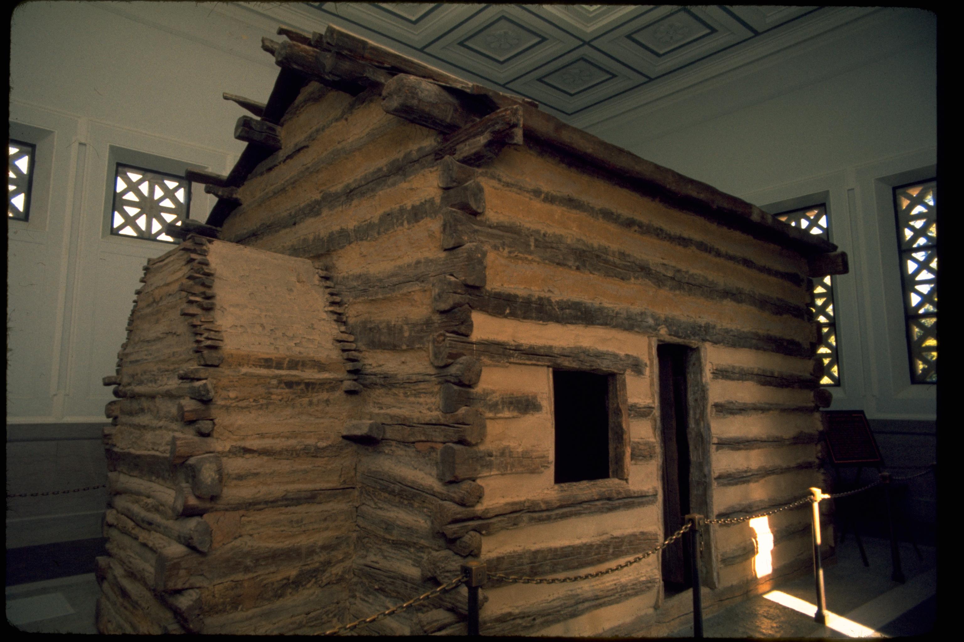 Изба, в которой родился Линкольн