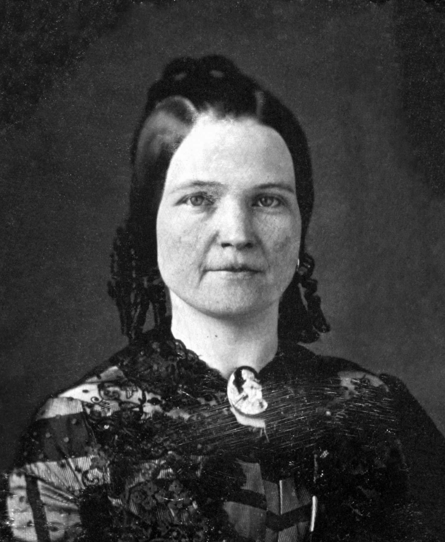 Мэри Тодд, жена Авраама Линкольна.