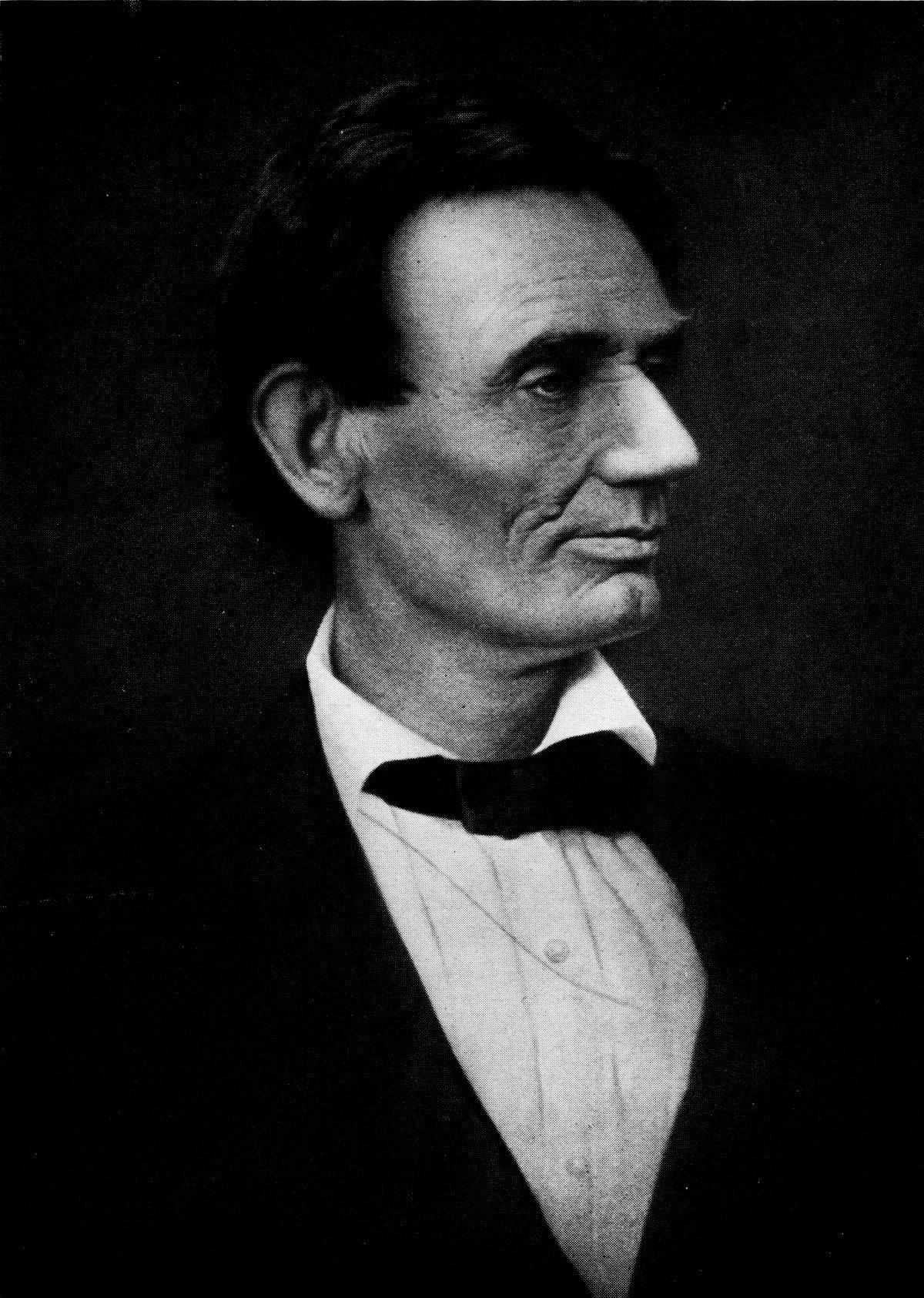 Кандидат в президенты Авраам Линкольн, 1860 год.