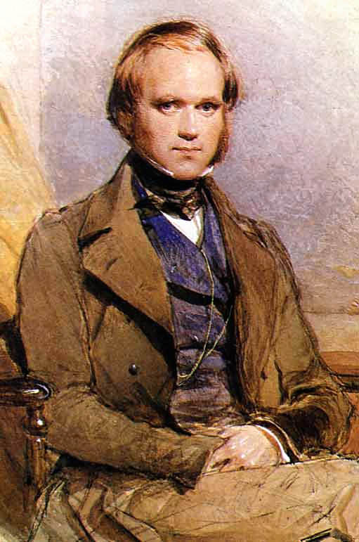 Ещё будучи молодым человеком, Дарвин стал членом научной элиты. (Портрет работы Джорджа Ричмонда, 1830-е годы.)