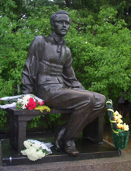 Памятник М. Ю. Лермонтову в Тарханах (Пензенская область). 1985.