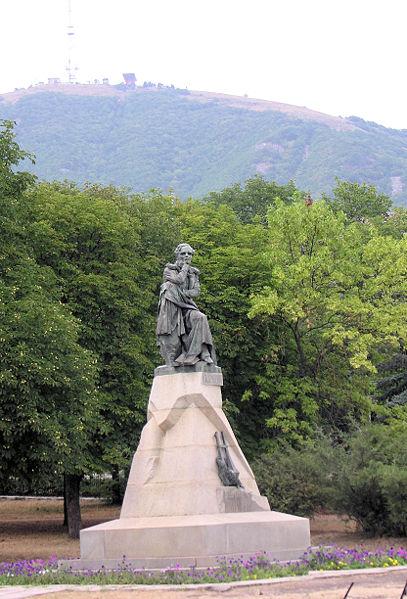 Памятник М. Ю. Лермонтову в Пятигорске (2008).