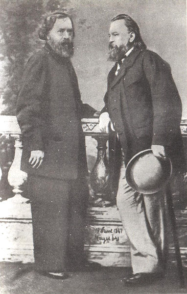 Александр Иванович Герцен и Николай Платонович Огарёв. Лето 1861 года