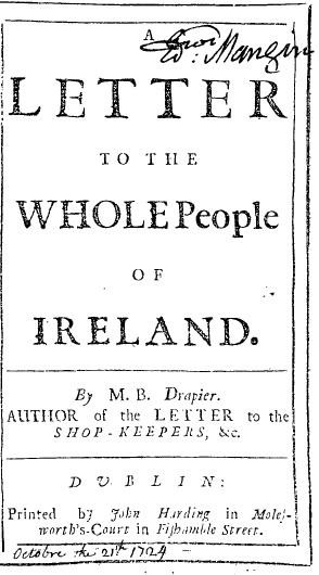 ��������� � ������ �������� (������� ���������, 1724)