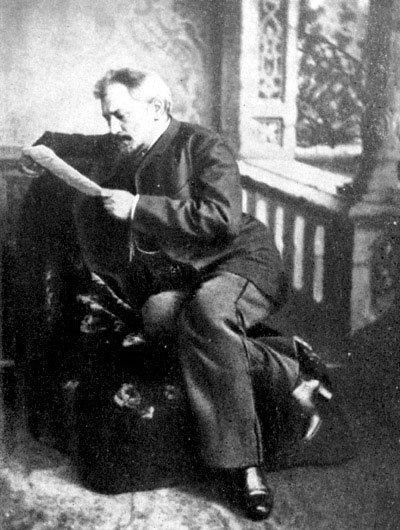 Н.С. Лесков. 1885 г.