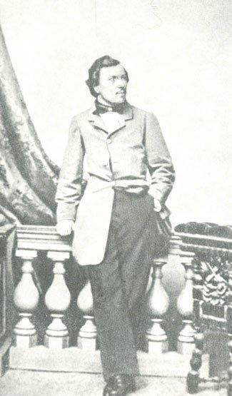 Н.С. Лесков. Фотография. 1861 г.