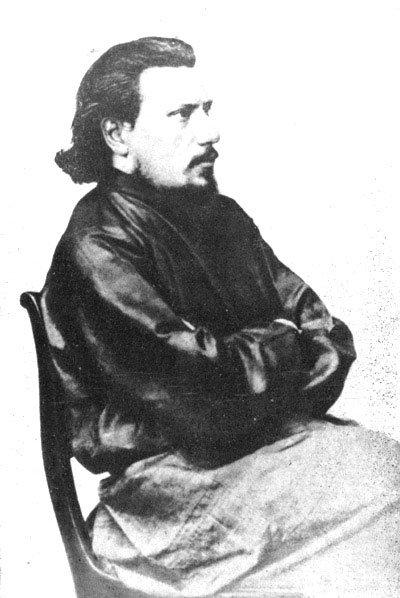 Н.С. Лесков. 1863 г.