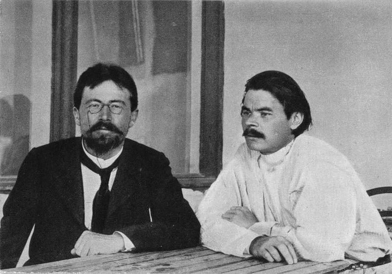 Чехов и Максим Горький