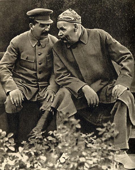 Беседа И. В. Сталина с А. М. Горьким.