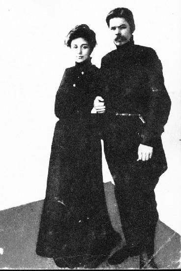 Мария Фёдоровна Андреева и Максим Горький.