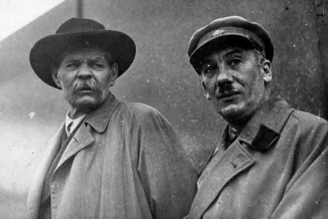 Максим Горький и Генрих Ягода. Не ранее ноября 1935 года