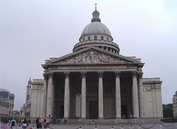 Пантеон — место захоронения Эмиля Золя