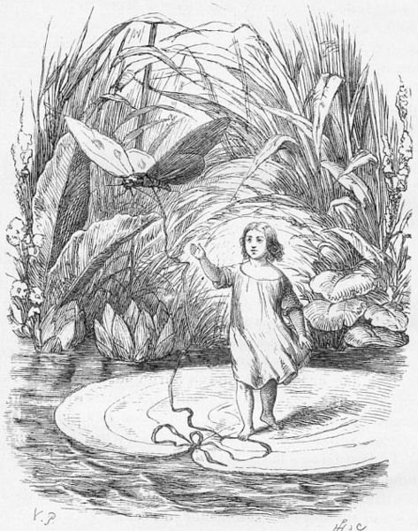 Ганс Христиан Андерсен (дат. Hans Christian Andersen). Дюймовочка, Вильгельм Педерсен, 1820—1859.