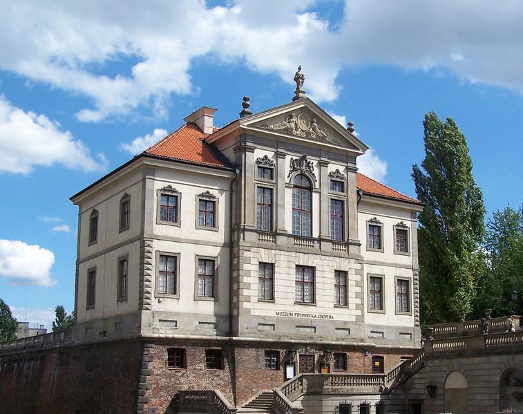 Дворец Острожских — местонахождение варшавского музея Шопена.
