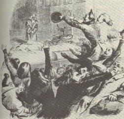 Скандал во время первой постановки «Эрнани» (1830)