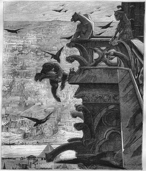 Квазимодо. Иллюстрация Альфреда Барбу