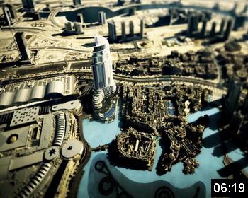 Две башни города Дубай (The two towers of Dubai)