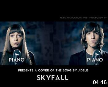 «Skyfall акапелла» от Марии Сазоновой и Тихона Левченко