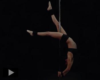 Танец на шесте от Евгении Серебренниковой