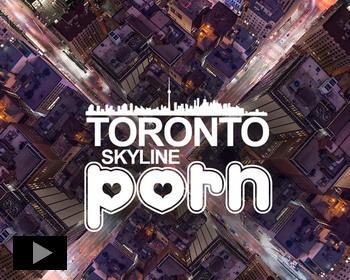 Головокружительные виды города Торонто, Канада
