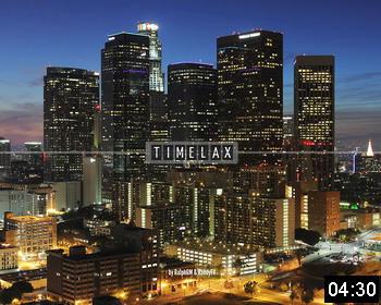 «TimeLAX»: замедленная киносъемка Лос-Анджелеса, Калифорния, США